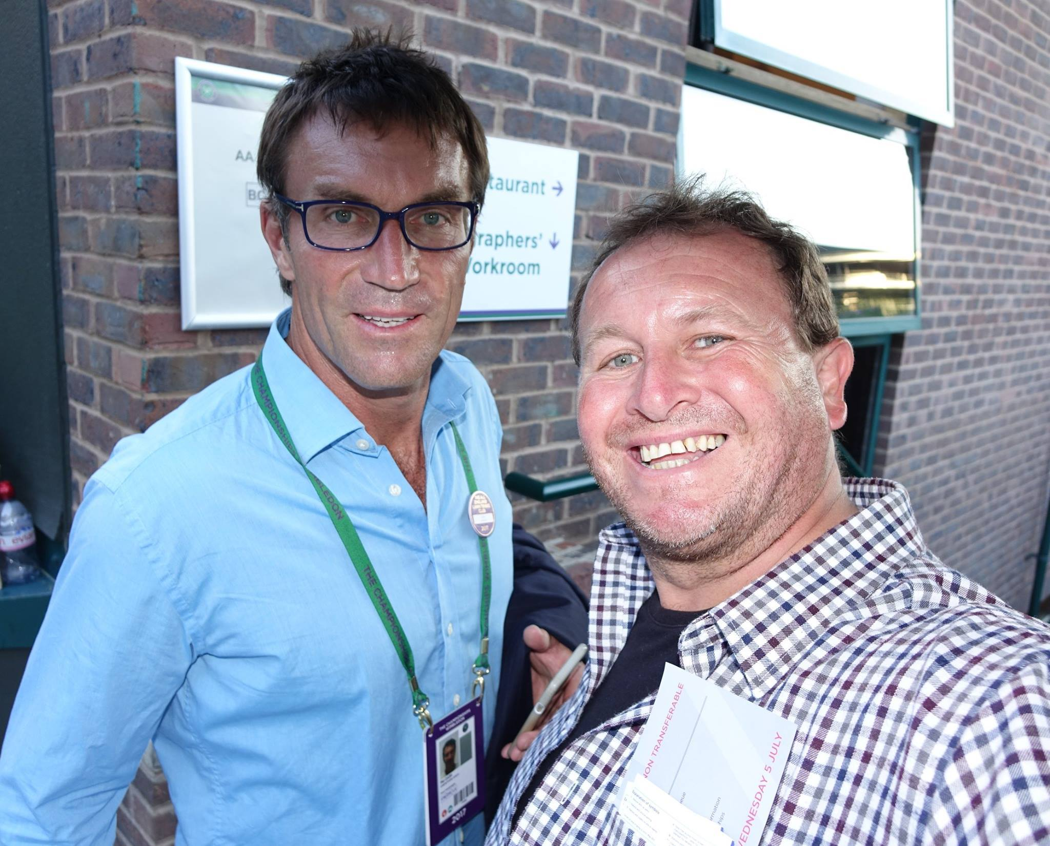 Pat Cash at Wimbledon