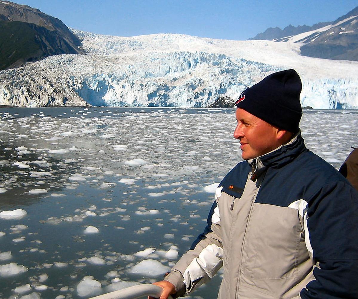 Alaska, USA. Cruising around Glacier Bay