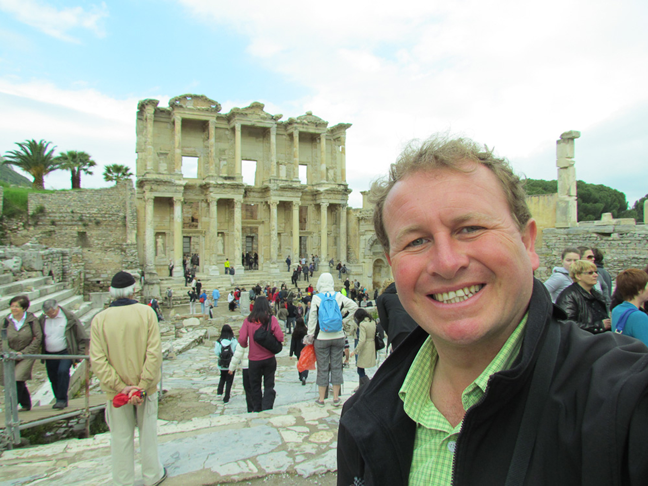 Ephesus, Turkey. The Celsus library in this vast ancient city