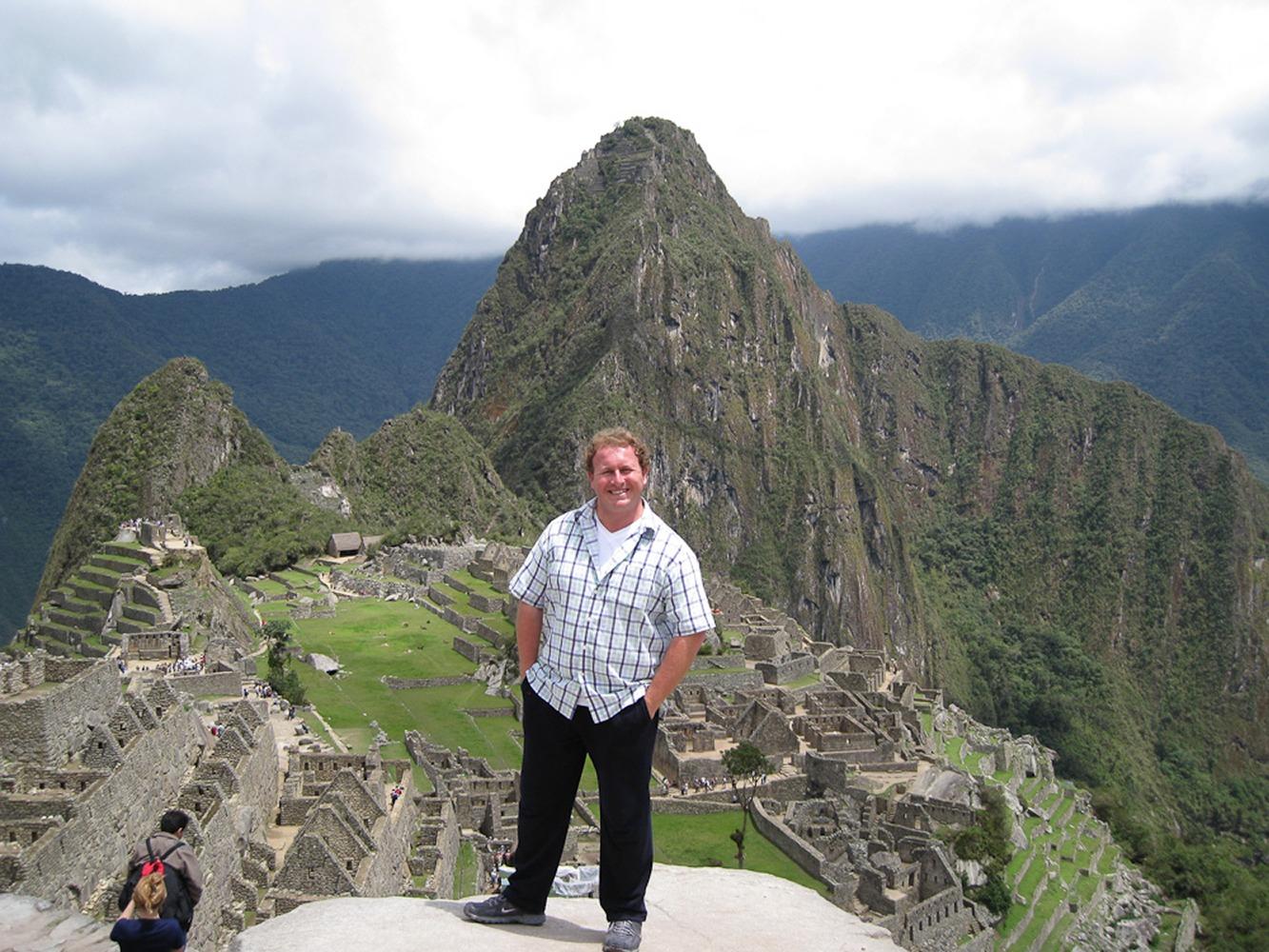 Machu Picchu, Peru. The amazing lost city of the Incas