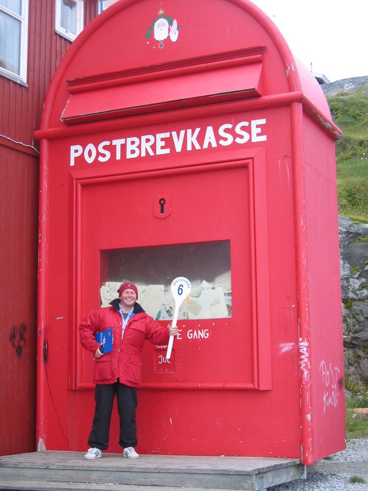 Nuuk, Greenland. The Worlds biggest post box!