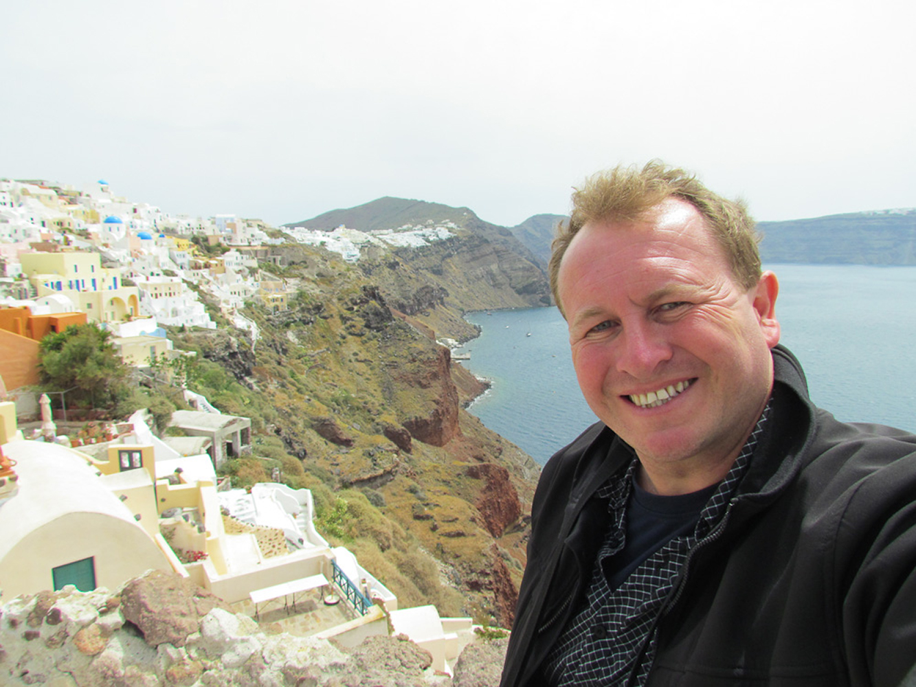 Oia, Santorini, Greece. One of the most photographed places in the World