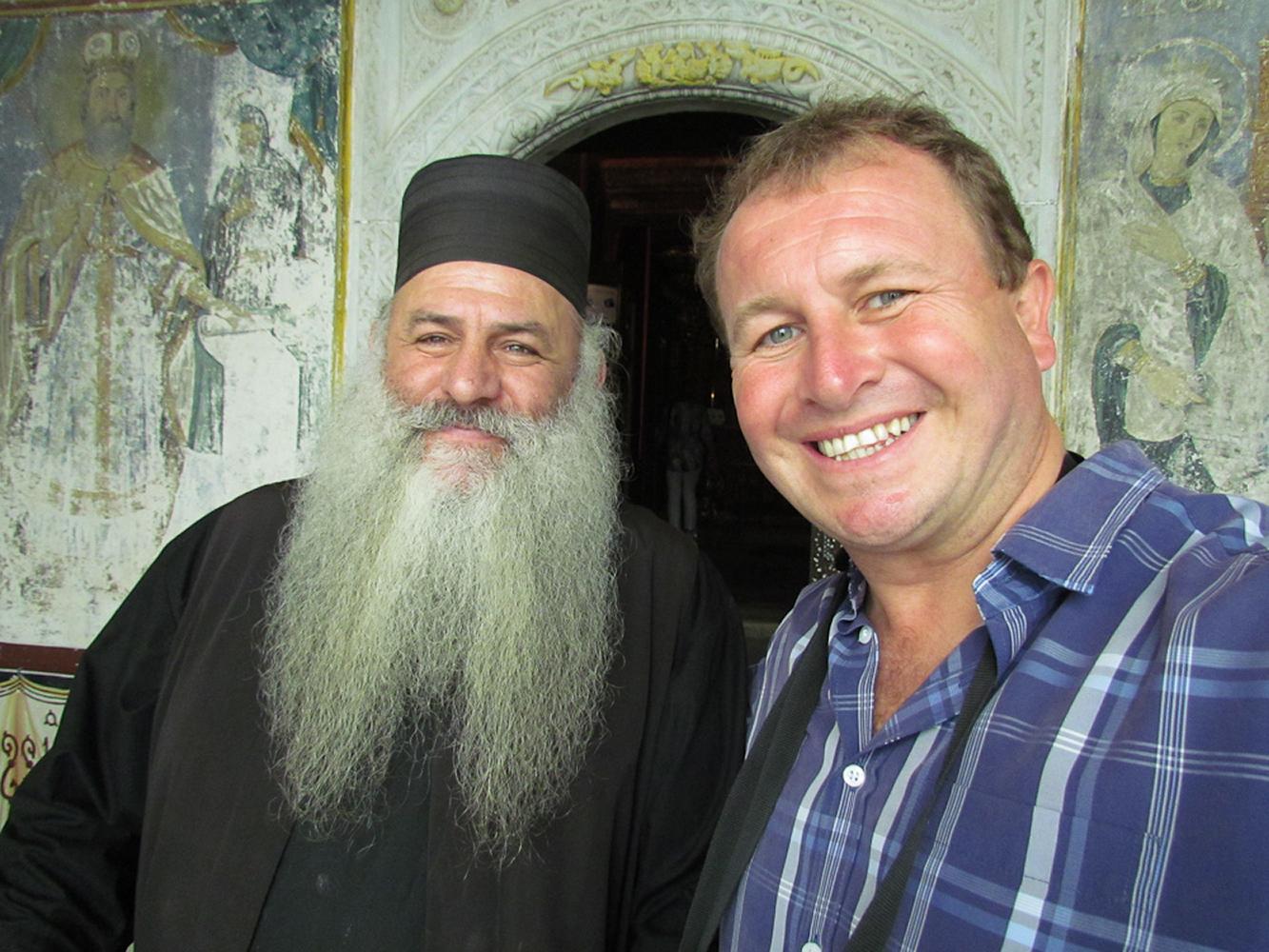 Patmos, Greece. The monastery of St.John the evangelist