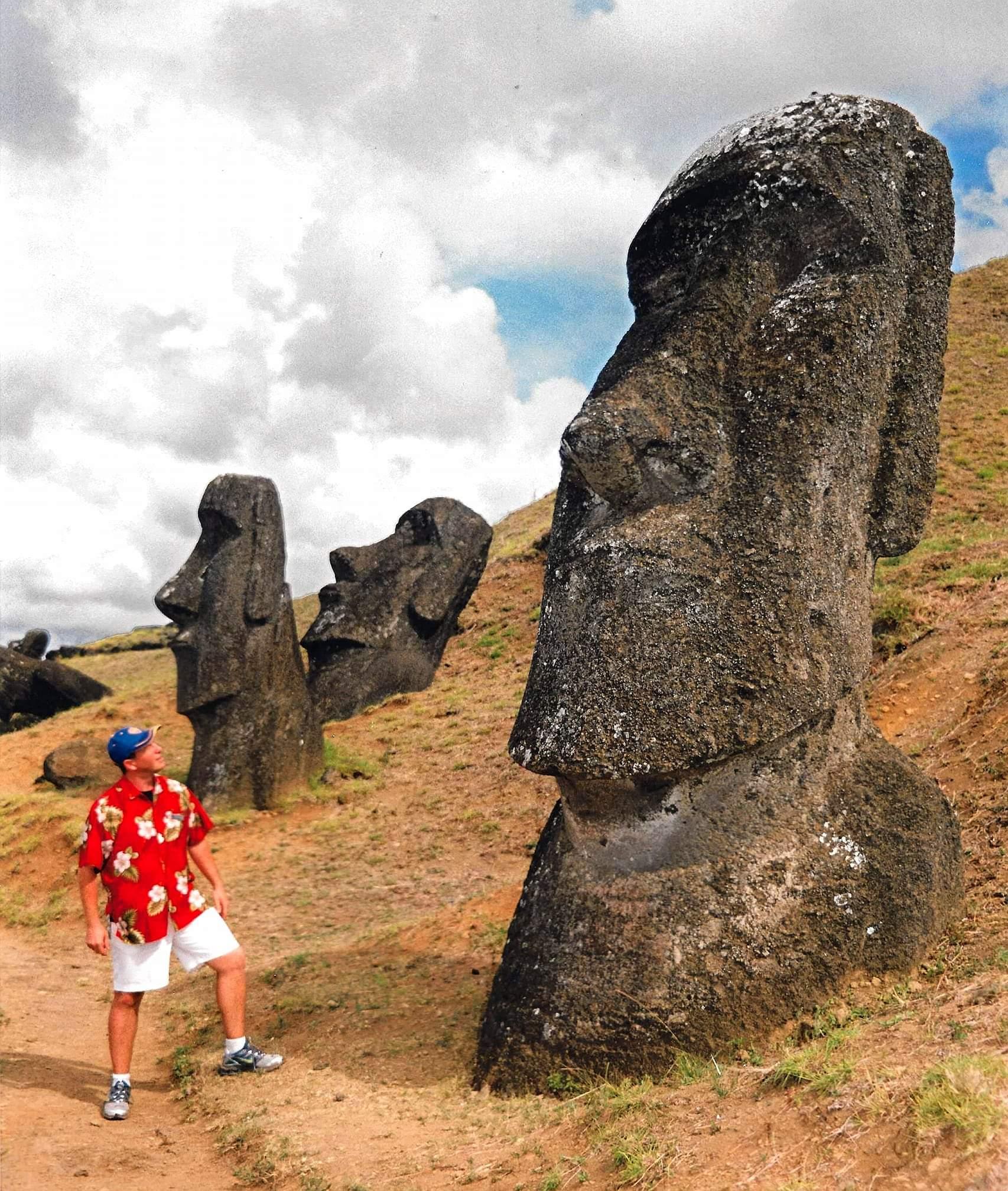 Easter Island, Chile. Meeting the Moai at Rano Raraku