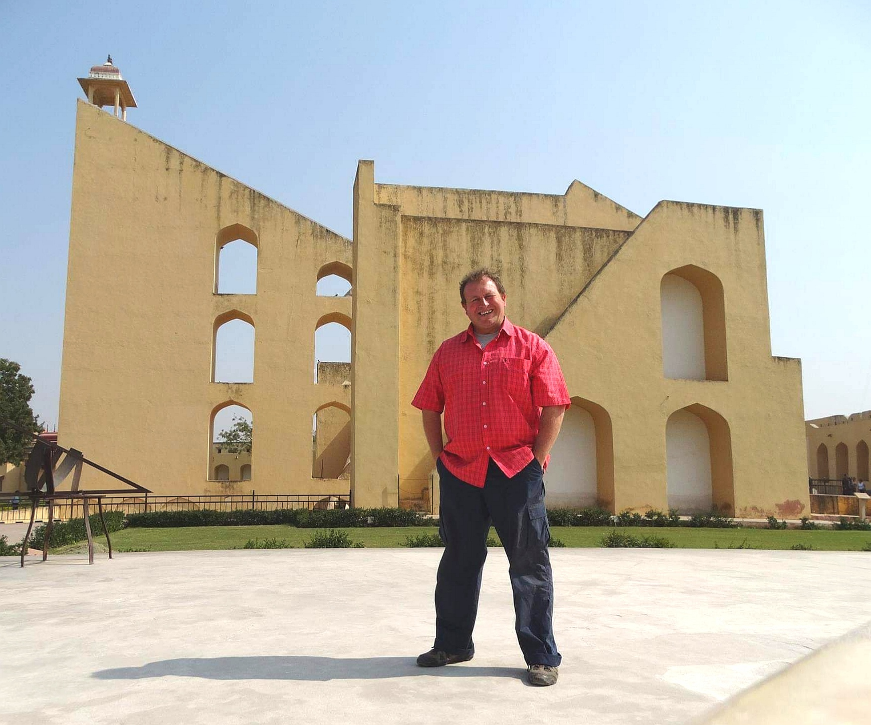Jaipur, India. Jantar Mantar is an astronomical observation site built in the early 18th century