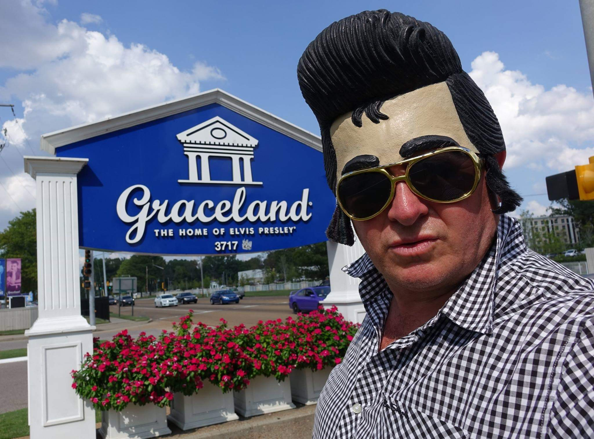Memphis, USA. In search of Elvis at Graceland