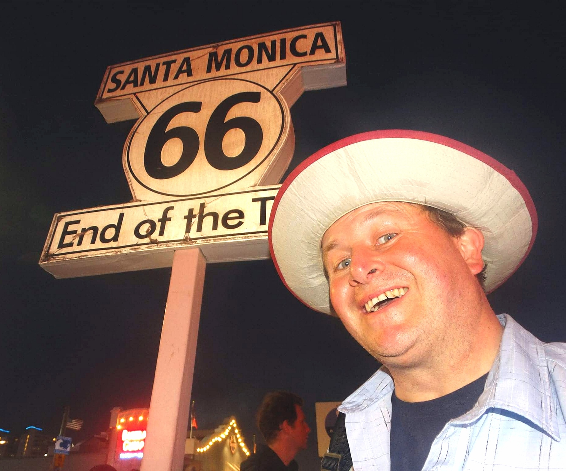 Santa Monica, USA. The end of Route 66