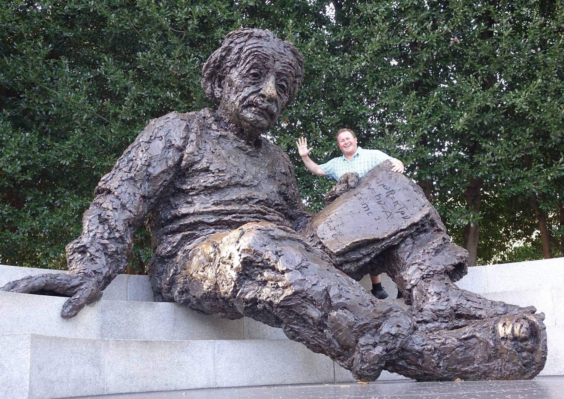 Washington DC, USA. The beloved Albert Einstein Memorial